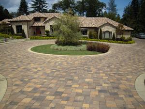 pavers stone driveway3