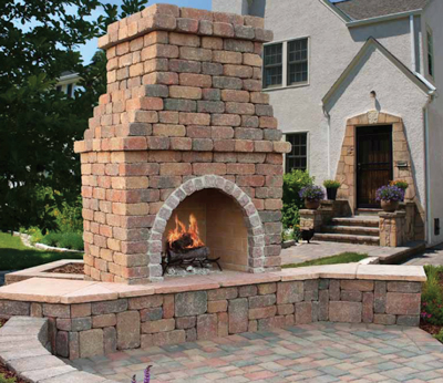Fire Pits Amp Fireplaces Interlocking Pavers Specialist