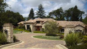 pavers stone driveway1