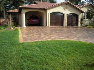 pavers stone driveway6