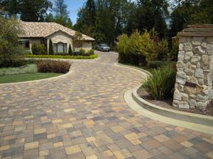 pavers stone driveway2
