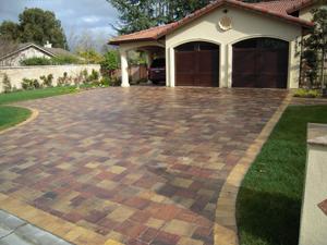 pavers stone driveway4