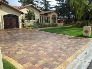 pavers stone driveway5
